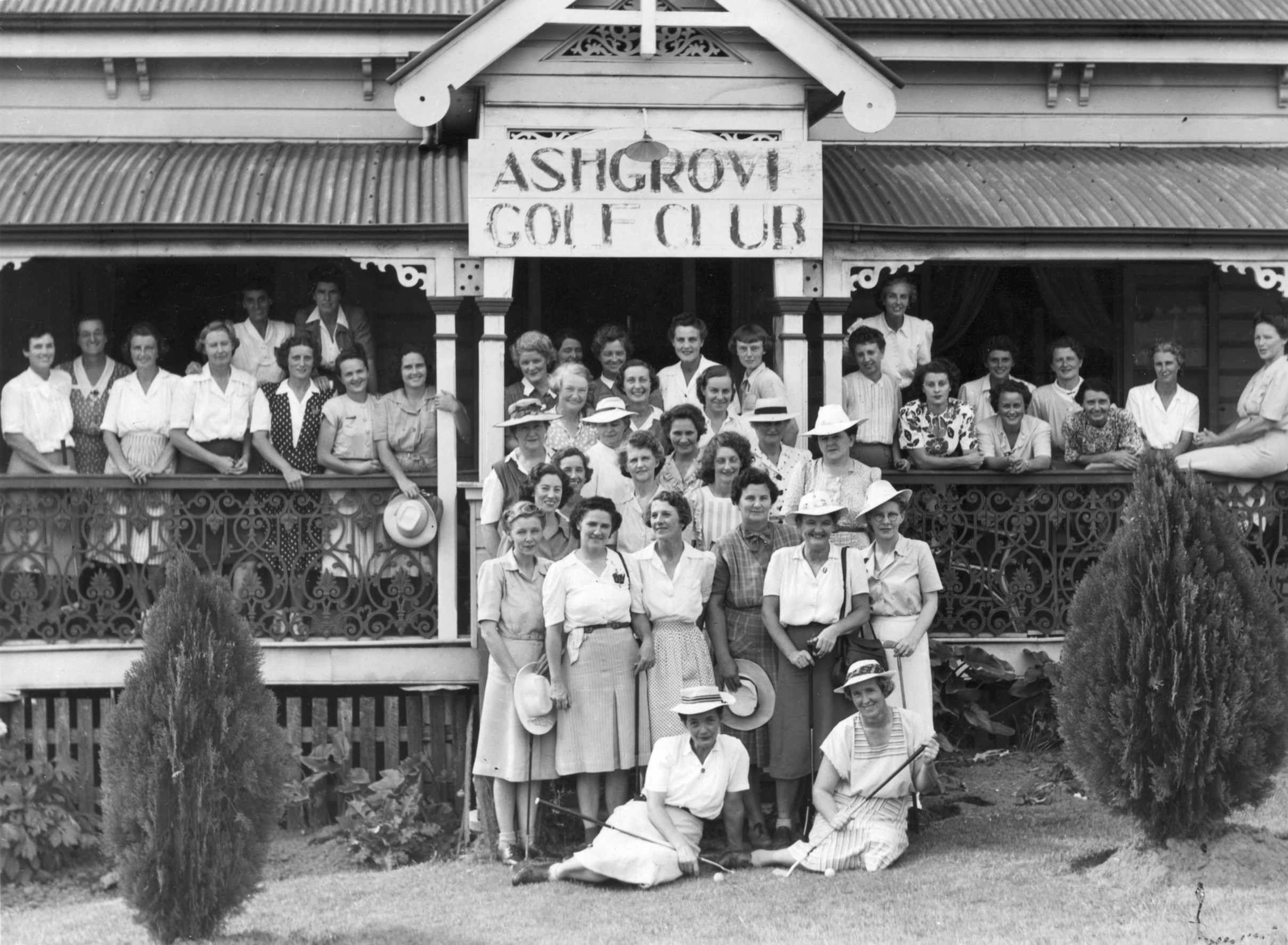 AS9 Ashgrove Golf Club Ladies