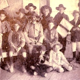 Leonard Lovejoy with first Ashgrove Scout troupe ca 1908
